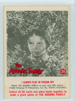 1964 Addams Family 35 I Always Play In Poison Ivy Excellent to Mint