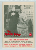 1964 Addams Family 46 I Need a Real Hair-Raising Story Very Good to Excellent