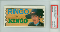 1964 Beatles Plaks 53 Ringo For Kingo PSA 8 Near Mint to Mint