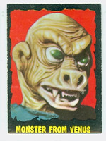 1964 Outer Limits O-Pee-Chee 12 Monster from Venus Excellent