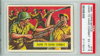 1965 Battle 19 Hand to Hand Combat PSA 6 Excellent to Mint