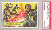 1965 Battle 25 Stopped by Grenades PSA 7 Near Mint