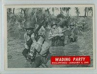 1965 War Bulletin 57 Wading Party Near-Mint