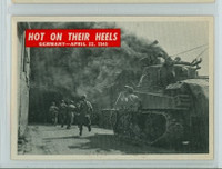 1965 War Bulletin 74 Hot on Their Heels Excellent to Mint