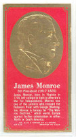 1965 Presidents|Famous Americans 5 James Monroe Excellent