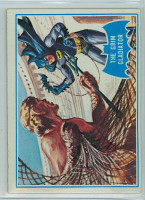 1966 Batman Blue Bat 7 Grim Gladiator Excellent to Mint Logo