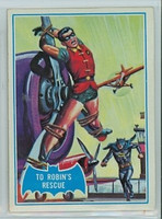 1966 Batman Blue Bat 11 To Robin's Rescue Excellent to Mint Logo
