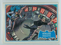 1966 Batman Blue Bat 12 Renegade Roulette Very Good to Excellent Logo