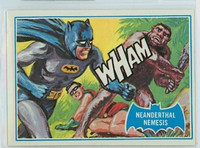 1966 Batman Blue Bat 14 Neanderthal Nemesis Excellent to Mint Logo