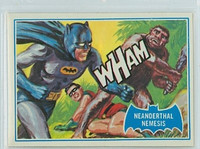 1966 Batman Blue Bat 14 Neanderthal Nemesis Near-Mint Logo