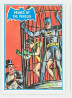 1966 Batman Blue Bat 16 Penned by the Penguin Excellent to Excellent Plus Logo