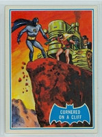 1966 Batman Blue Bat 19 Cornered on a Cliff Excellent to Mint Logo
