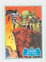 1966 Batman Blue Bat 19 Cornered on a Cliff Near-Mint Logo