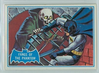 1966 Batman Blue Bat 24 Fangs of the Phantom Near-Mint Logo