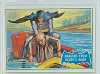 1966 Batman Blue Bat 25 Dragged From Death's Door Near-Mint Logo