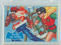 1966 Batman Blue Bat 27 Pasting the Painter Near-Mint Logo