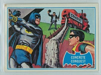 1966 Batman Blue Bat 28 Concrete Conquest Good to Very Good Logo