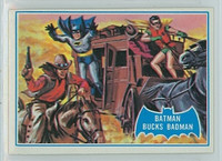1966 Batman Blue Bat 31 Batman Bucks Badman Excellent to Excellent Plus Logo