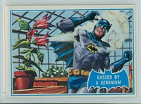1966 Batman Blue Bat 33 Gassed By a Geranium Excellent Logo