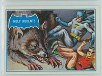 1966 Batman Blue Bat 35 Holy Rodents Excellent to Mint Logo