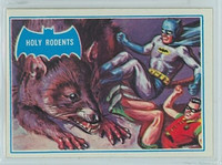 1966 Batman Blue Bat 35 Holy Rodents Near-Mint Logo