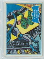 1966 Batman Blue Bat 36 A Pressing Position Excellent to Mint Logo