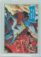 1966 Batman Blue Bat 38 Beware the Bat-A-Rang Excellent to Mint Logo
