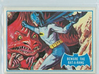 1966 Batman Blue Bat 38 Beware the Bat-A-Rang Near-Mint Logo