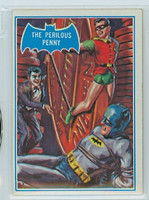 1966 Batman Blue Bat 43 The Perilous Penny Excellent to Mint Logo