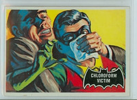 1966 Batman Black 6 Chloroform Victim Very Good to Excellent