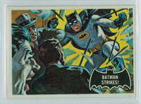 1966 Batman Black 12 Batman Strikes Very Good