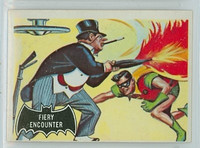 1966 Batman Black 19 Fiery Encounter Excellent
