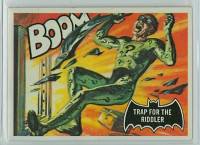 1966 Batman Black 45 Trap For The Riddler Excellent