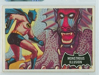 1966 Batman Black 48 Monstrous Illusion Very Good