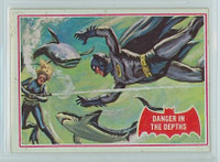 1966 Batman Red 14 Danger in the Depths Very Good to Excellent  [SKU:Y66_BATRED_014a_4vgesb]