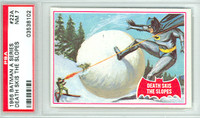 1966 Batman Red 22 Death Skis the Slope PSA 7 Near Mint