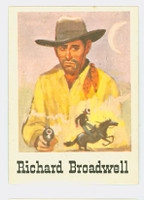 1966 Good - Bad Guys 6 Richard Broadwell Near-Mint