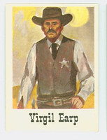 1966 Good - Bad Guys 33 Virgil Earp Near-Mint