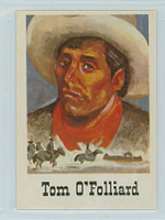 1966 Good - Bad Guys 57 Tom O'Folliard Near-Mint to Mint