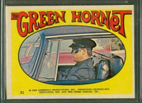 1966 Green Hornet Stickers 31 Sticker #31 Excellent to Mint
