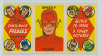 1966 Comic Book Foldees 1 Speedy Flash Near-Mint