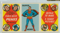 1966 Comic Book Foldees 3 Super Hero (Superman) Near-Mint to Mint