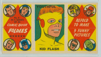 1966 Comic Book Foldees 4 Youthful Kid Flash Near-Mint