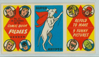 1966 Comic Book Foldees 11 Super Krypto (the Dog) Near-Mint to Mint