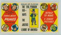 1966 Comic Book Foldees 29 The Evil Penguin Kidnaps the Justice League Near-Mint to Mint
