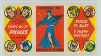 1966 Comic Book Foldees 43 Catwoman, the Princess of Plunder Near-Mint to Mint