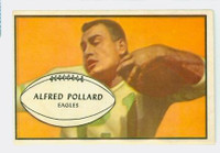 1953 Bowman Football 14 Al Pollard Philadelphia Eagles Excellent