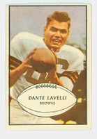1953 Bowman Football 15 Dante Lavelli Cleveland Browns Excellent