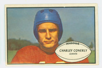 1953 Bowman Football 20 Charlie Conerly New York Giants Good to Very Good