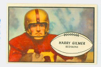 1953 Bowman Football 27 Harry Gilmer Washington Redskins Excellent to Mint